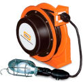 Hubbell ACA16325-HL Industrial Duty Cord Reel with Incandescent Hand Lamp - 16/3c x 25', Aluminium