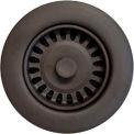 """Houzer 190-9264 3-1/2"""" Bronze Basket Strainer"""