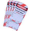Replacement Box of 25 Tags 70-1186 for IRONguard Forklift Lock-Out Guard Kit