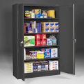 "Tennsco Jumbo J2478SU armoire de stockage-BLK - soudés W 48"" x 24 «D x 78» H noir"