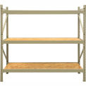 "JBX System 800 Boltless Wide-Span Shelving - 72""Wx24""Dx72"" - OSB Wood Decking - Starter Unit"