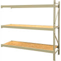 "JBX System 800 Boltless Wide-Span Shelving - 72""Wx24""Dx96""H - OSB Wood Decking - Add-On Unit"
