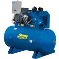 Jenny® G5A-60-230/1, 5 HP, Single-Stage Comp, 60  Gal, Horiz., 125 PSI, 17.8 CFM, 1-Phase 230V