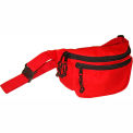Kemp Fanny Pack With Screenprint Guard, Red, No Logo, 10-103-RED-NL