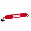 """Kemp 40"""" Rescue Tube With Plastic Clips, Red, 10-202-RED"""
