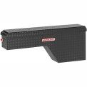 Weather Guard Pork Chop Truck Box, Black Aluminum Passenger Side Full Size 3.4 Cu. Ft. Cap. 171-5-01