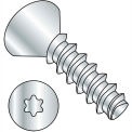 #2 x 1/4 6 Lobe Flat Plastite Alternative 48-2 Fully Threaded Zinc Bake & Wax - Pkg of 10000