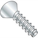 #4 x 1/2 Phillips Flat Plastite Alternative 48-2 Fully Threaded Zinc Bake And Wax - Pkg of 10000