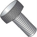 "#8-32 x 1/2"" Knurled Thumb Screw - FT - 18-8 Stainless Steel - Pkg of 100"