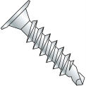 8-18X1  Phillips Wafer Head t Full Thread Self Drilling Screw Zinc Bake, Pkg of 5000