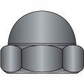 8-32 deux morceau faible Couronne Cap Nut oxyde noir, paquet de 2000