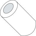 #4 x 1/4 Three Six teenths Round Spacer Nylon - Pkg of 1000