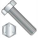 1-8 x 3-1/2 Hex Tap Bolt - Grade 5 - Fully Threaded - Zinc - Pkg of 5