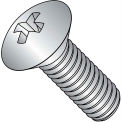 1/4-20X3/8  Phillips Oval Machine Screw Fully Threaded 18 8 Stainless Steel, Pkg of 1000