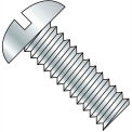 1/4-20X1/2  Slotted Round Machine Screw Fully Threaded 18 8 Stainless Steel, Pkg of 1000