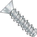 #14 x 1 Phillips Flat High Low Screw Fully Threaded Zinc Bake - Pkg of 3000