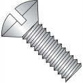 1/4-20X1  Slotted Oval Machine Screw Fully Threaded 18 8 Stainless Steel, Pkg of 1000
