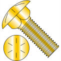 1/2-13 x 4 boulon de Grade 8 entièrement filetée Zinc jaune, paquet de 150