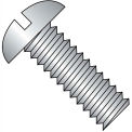 1/2-13X4 1/2  Slotted Round Machine Screw Fully Threaded 18 8 Stainless Steel, Pkg of 50