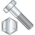 5/8-11 x 2-1/2 Hex Cap Screw - Coarse Thread - Grade 5 - Zinc - Pkg of 125