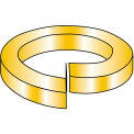 7/8 High Alloy Regular Split Lock Washer AISI 4037 - Zinc Yellow - Pkg of 100
