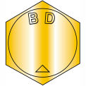 B9/16-12X2  MS90728, Alloy Steel B1821 Coarse Cap Screw Per ASTM A354BD Zinc Yellow DFAR,100 pcs