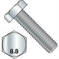 M24-3 x 90 Din 933 Point 8 8 métrique entièrement filetée vis Zinc, paquet de 5