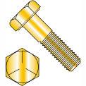 1/4-20 x 5/8 MS90725 Military Hex Cap Screw - Coarse Thread - Yellow - Grade 5 - Pkg of 3000