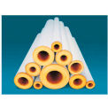 "Johns Manville 1/2""X 3' FT FIBERGLASS PIPE INSULATION 1/2"" WALL"
