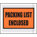 "Packing List Envelopes - ""Packing List Enclosed"" 4-1/2"" x 5-1/2"" Full Face - 1000/Case"