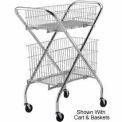 """Optional 12"""" Wire Basket (4653) for Lakeside® Wire Cart"""