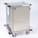 "Lakeside® 6940 Single Door Stainless Steel Case Cart, 30""L x 29""W x 39""H"
