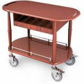 """Geneva Lakeside Serving Cart 35-1/2""""x17-3/4""""x29"""" w/ Cutlery Compartment, 70458"""