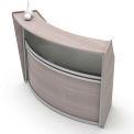 Linea Italia® Reception Desk - Ash