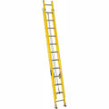 Louisville 24' Fiberglass Extension Ladder - 250 Lb. Cap. - Type I / Grade 1 - FE1724