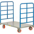 Little Giant® Double End Rack Platform Truck DR-2448-6PY - 48 x 24 3600 Lb. Capacity