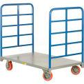 Giant® petite Double fin Rack plate-forme camion DR-2448-6PY - capacité de 3600 livres de 48 x 24
