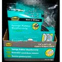 """M-D Premium Sponge Rubber Weatherstrip Tape, 06593, Black, 1/4""""T x 3/4""""W x 10'L"""