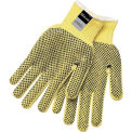 Kevlar® Two-Sided PVC Dots Gloves, Memphis Glove 9366L, 1-Pair