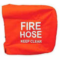 Fire Hose Reel Cover - 36 In. X 8 In. Red Vinyl
