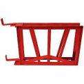 Fire Hose Standard Hump Rack - For 1-1/2 In. Diameter - 50 Ft Capacity - Steel