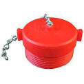 Fire Hose Red Hose Plug - 1-1/2 In. NH - Plastic