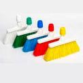 Balai verticale - balayage moyen doux - bloc hygiéniques en plastique - blanc