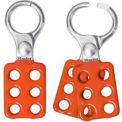 """Master Lock® Lockout Hasp, Aluminum, 1"""" Jaw Dia. X 1-1/2""""W X 4-3/8""""L"""