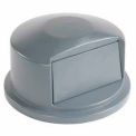 Rubbermaid® 2637-88 Dome Lid For 32 Gallon Round Trash Container, Gray