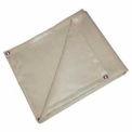 6' X 6' Heat Treated Fiberglass Welding Blanket, 18 oz. Beige - BIS-18-0606