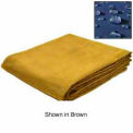 7' X 9' Super Heavy Duty 15 oz. Water Resistant Canvas Tarp Olive Drab - CTW-15-01-0709