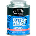 Passenger Tire Fast-Dry Self -Vulcanizing Cement - 1/2 Pint - Min Qty 2