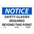 Global Industrial™ Danger No Trespassing, 10x14, Pressure Sensitive Vinyl