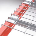 """Flared Channel Wire Decking - 36""""D x 52""""W - 2500 Lbs. Capacity"""